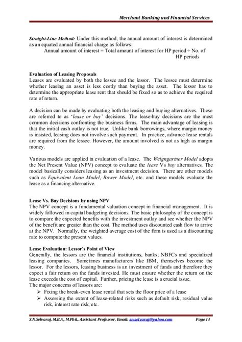 Mba Financial Services Notes by Merchant Banking And Financial Services Unit 4 Notes For Mba