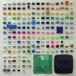 brick color codes a chart of every lego color