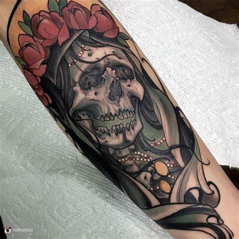 muerte tattoo design bildergebnis f 252 r santa muerte tattoos tattoos