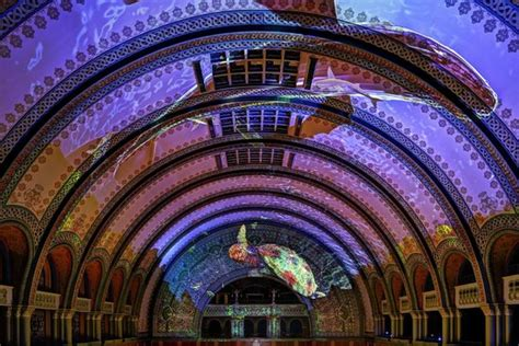 union station st louis light show 3d light show stained glass ceiling picture of st louis