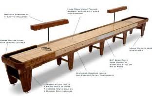 shuffleboard resources shuffleboard table