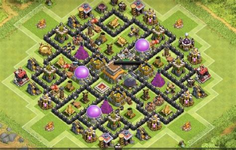 best defense town hall level 8 2016 12 heroic farming base layouts for 2015