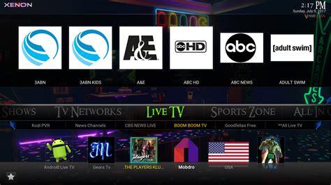 live tv kodi xenon build how to install pwrdown