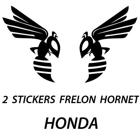 Sticker Tuning Para Motos by Stickers Autocollant Tuning Moto 2 Frelons Hornet Honda