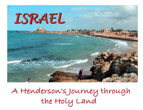 the land of israel a journal of travels in palestine undertaken with special reference to its physical character classic reprint books israel a henderson s journey to the holy land book
