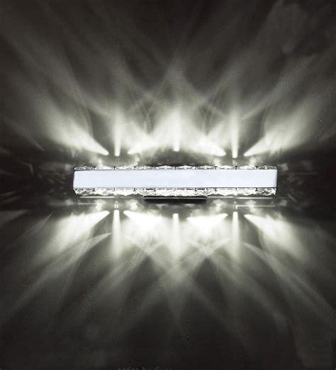 Glow Crystal Wall Light