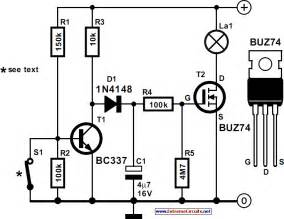 Car Lighting Circuit Diagram Car Interior Lights Delay Circuit Diagram