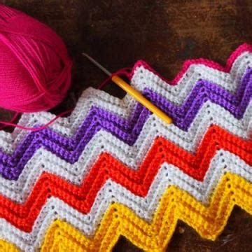 zig zag crochet pattern instructions zali zig zag chevron blanket free crochet pattern