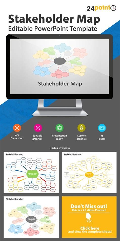 stakeholder map template powerpoint 136 best images about business concepts models