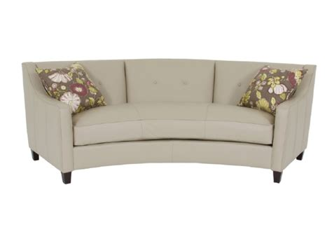 curved loveseat sofa curved sofas urbancabin
