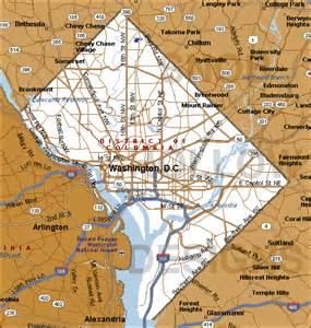 washington dc region map district of columbia history and information