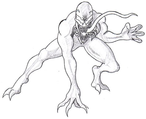 marvel carnage vs venom coloring pages coloring pages