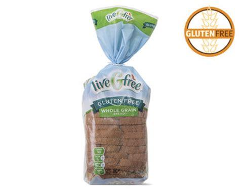 whole grains grocery store aldi us livegfree gluten free whole grain bread