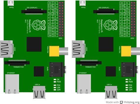 raspberry pi graphics  models  fritzing raspitv