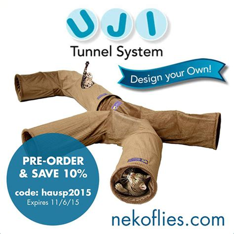 last chance to save 10 on the new uji cat tunnel system
