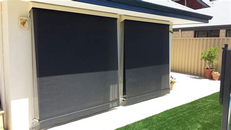 roll out awnings for cers window awnings perth wa roll up awning action awnings