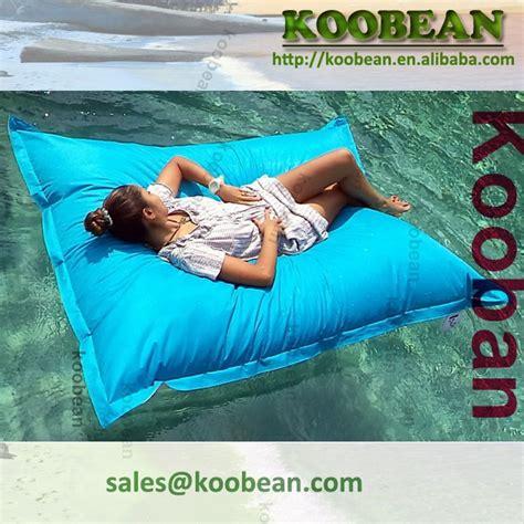 Pool bean bag for floating inflatable floating bean bag slab shaped bean bag float buy sofa