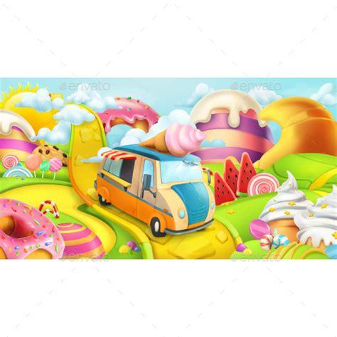 Candyland Flyer Template