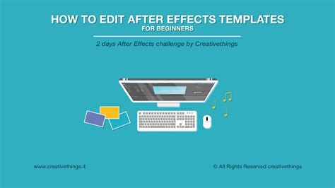 How To Edit After Effects Templates Free After Effects Course For Beginners Youtube Editable After Effects Templates Free