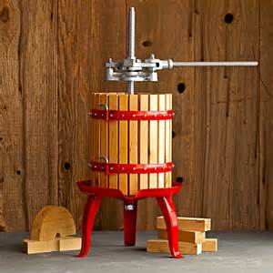 Wine Press Classic Fruit Wine And Cider Press The Green