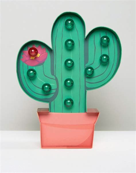 Cactus Marquee Light Lu Kaktus 7944 best room trends images on