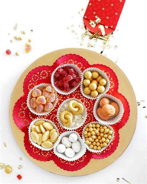 new year snack box new year tray martha stewart