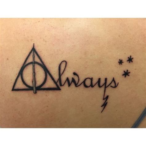 harry potter always tattoo awesome top 100 harry potter tattoos http 4develop