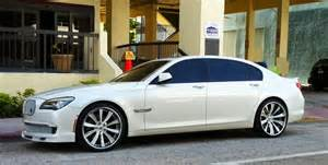Bmw Custom White Customized Bmw 750il On South Cars On