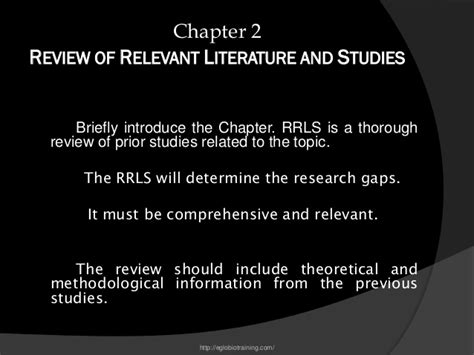 Review Of Related Literature Qualitative Research by Guidelines To Qualitative Researches
