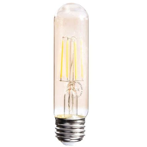 T10 Led Light Bulbs 40w Equivalent Soft White T10 Vintage Filament Dimmable Led Light Bulb Zl T10 Fil 4 5w 2450k Dim