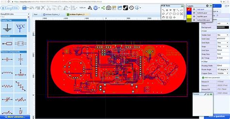 layout editor gerber design pcb and visualize your pcb designs with easyeda