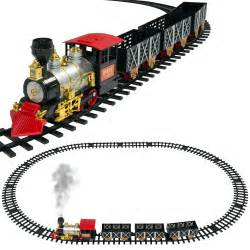 classic train set for kids with real smoke music and