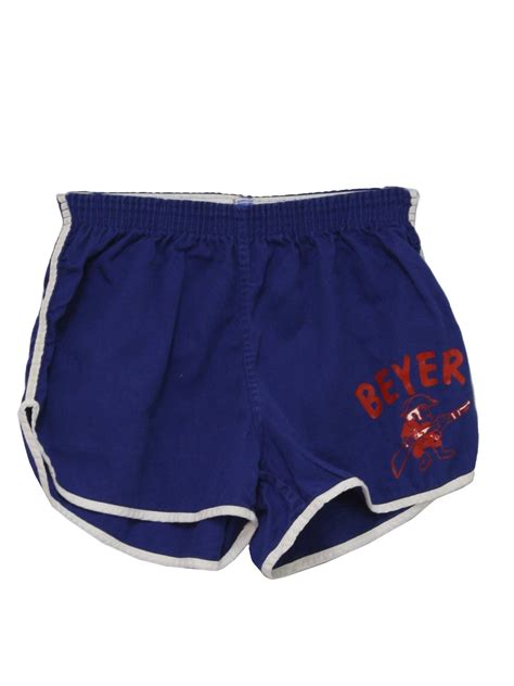 champion vintage shorts champion mens blue
