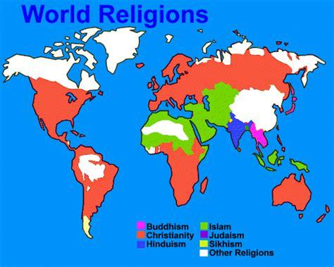 map world religions location world faiths