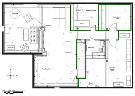 basement finishing floor plans how to layout a basement design home decoration live