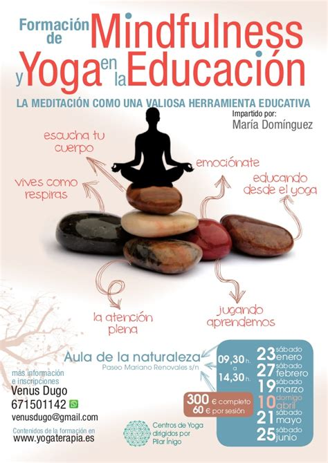 educacin mindfulness el 8484456730 formaci 243 n de yoga y mindfulness en la educaci 243 n por mar 237 a dom 237 nguez