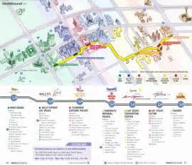 Las Vegas Tram Map by Las Vegas Monorail Map 2010 Related Keywords Amp Suggestions