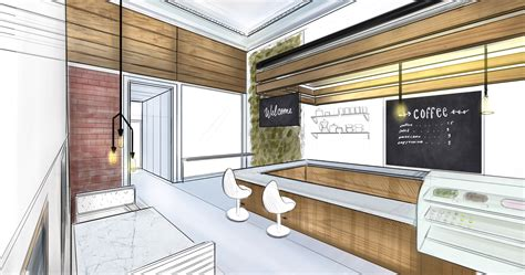 Glass Design For Kitchen Cabinets by How To Draw With Two Point Perspective Making Beautiful