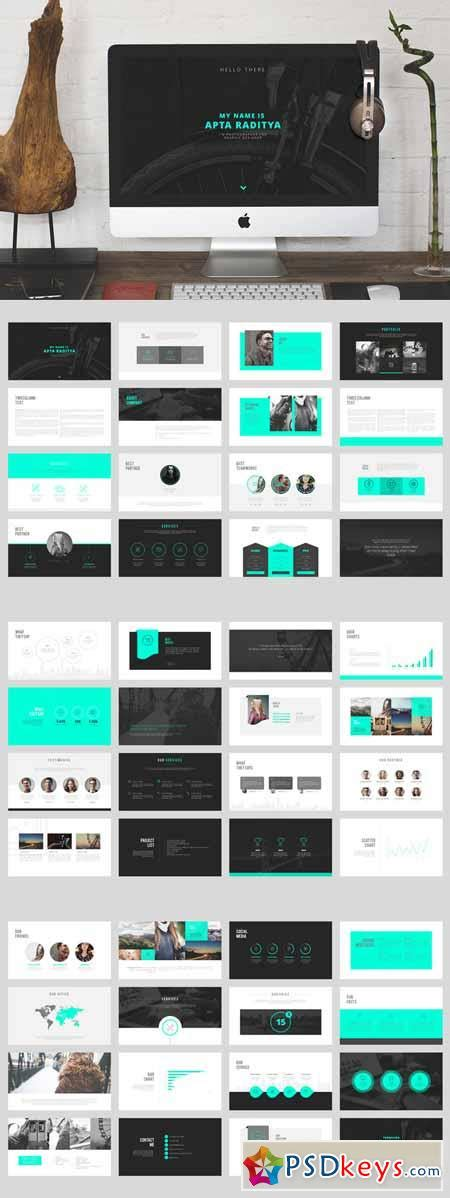 Portfolio Powerpoint Template 313178 187 Free Download Photoshop Vector Stock Image Via Torrent Powerpoint Portfolio Template