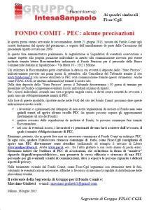 fondo pensione commerciale italiana pec