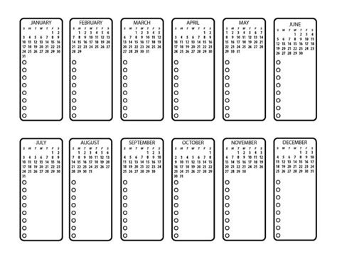printable calendar bullet journal bullet journal printable future planning by