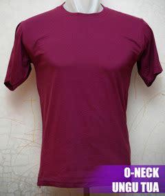 Kaos Polos Ungu Tua Cotton Combed 20s S M Ml kaos polos o neck pendek 171 kaos polos kece murah
