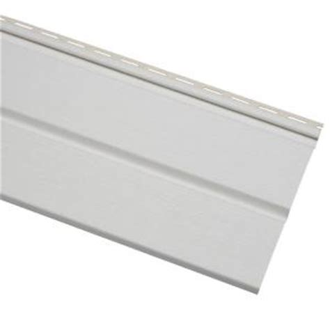 home depot paint vinyl siding cellwood economy 5 in white solid vinyl soffit