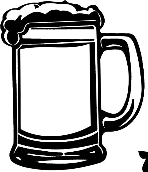 beer glass svg clipart beer mug