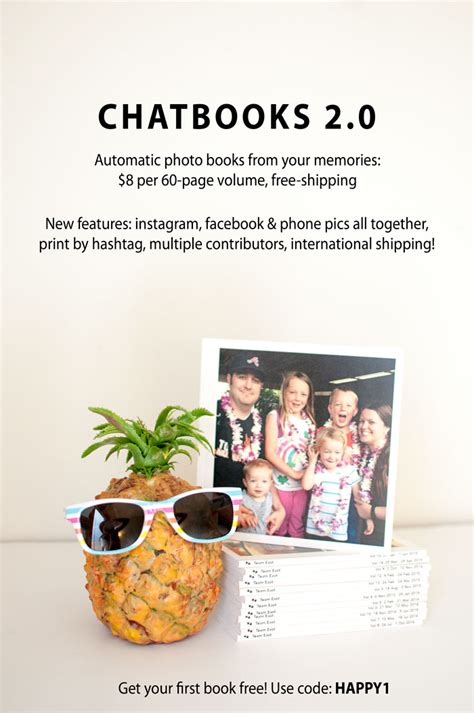 Chatbooks Gift Card - giveaway chatbooks gift code celebrity baby scoop