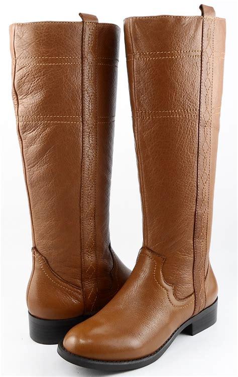 white mountain cognac womens designer shoes knee high