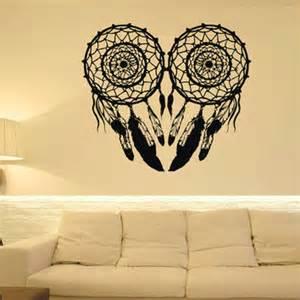 Owl Wall Mural Dream Catcher Wall Decal Owl Dreamcatcher From