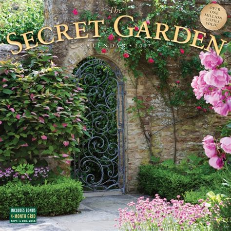 The Secret Garden Wall Calendar 9780761188223 Secret Garden Wall