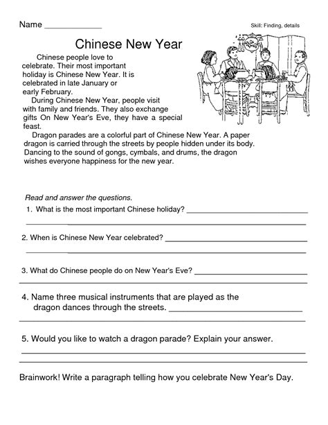 new year printable worksheets new year worksheets for kindergarten education