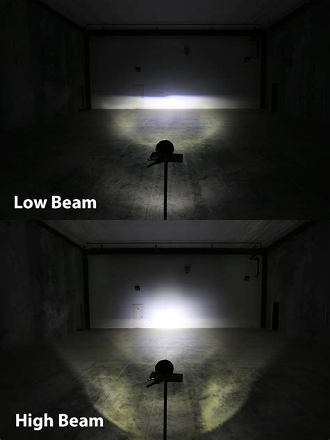 high beam led lights 7 quot round h6024 sealed beam motorcycle headlight led